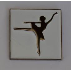 Ballerina Ballet Dancer Quality Enamel Pin Badge