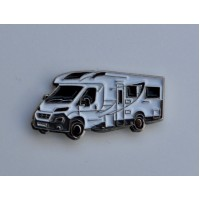 Motorhome Enamel Pin Badge