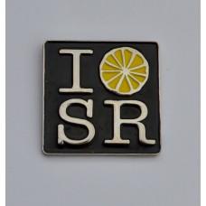 Stone Roses Square Quality Enamel Pin Badge