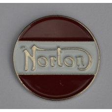 Norton Motorcycle Enamel Pin Badge