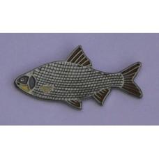 Roach Fish Enamel Pin Badge