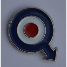 Quadrophenia RAF Roundel with Arrow Pin Badge