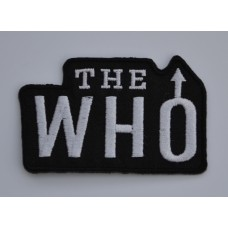 The Who Sew-on / Iron-on Patch