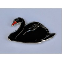 Black Swan Enamel Pin Badge