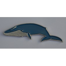 Blue Whale Enamel Pin Badge