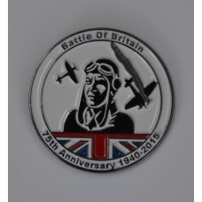 Battle of Britain Anniversary Enamel Pin Badge
