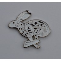 Celtic Hare Quality Enamel Pin Badge