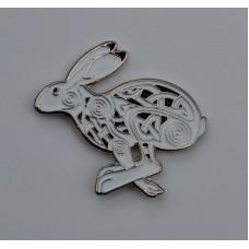 Celtic Hare Quality Enamel Pin Badge