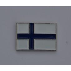 Finnish Flag Finland Enamel Pin Badge