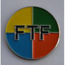 Geocache FTF First To Find Enamel Pin Badge