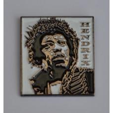 Jimi Hendrix Enamel Pin Badge