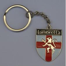 Lambretta Shield Enamel Keyring