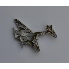 Mosquito RAF WWII Aeroplane Enamel Pin Badge