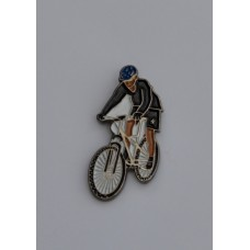 Mountain Bike Quality Enamel Pin Badge