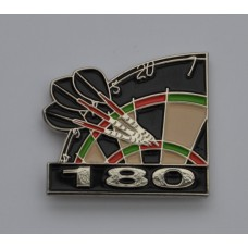 Darts Maximum Enamel Pin Badge