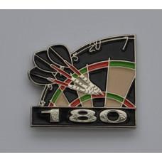 Darts Maximum Enamel Pin Badge