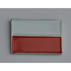 Polish Flag Enamel Pin Badge