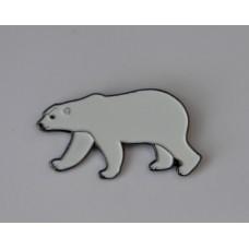 Polar Bear Quality Enamel Pin Badge