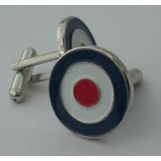RAF Roundel Mod Target Cufflinks