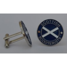 Scottish Scooterists Cufflinks