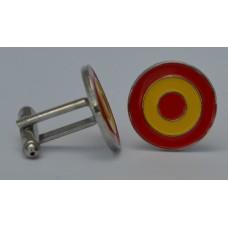 Spanish Roundel Mod Target Cufflinks
