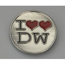 Doctor Who Style Whovian Two Hearts Pin Badge