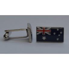 Australian Flag Enamel Cufflinks