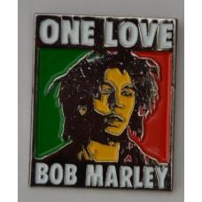 Bob Marley One Love Quality Enamel Pin Badge