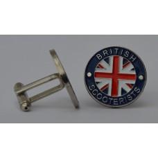 British Scooterists Cufflinks