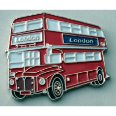 London Routemaster Bus Pin Badge