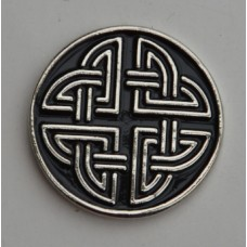 Celtic Knot-style one Pin Badge