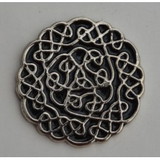 Celtic Knot-style two Pin Badge