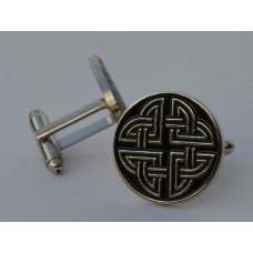 Celtic Knot Quality Enamel Cufflinks