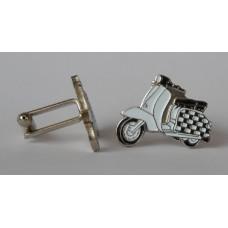Checkerboard Special Lambretta Cufflinks