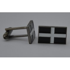 Cornish Flag Quality Enamel Cufflinks