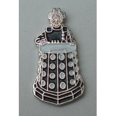 Doctor Who Style Whovian Davros Pin Badge
