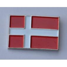 Denmark Danish Flag Quality Enamel Pin Badge