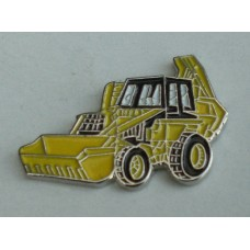 Excavator Digger Pin Badge