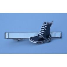 Black DM Style Boot Tie-Pin