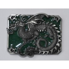 Dragon Enamel Buckle