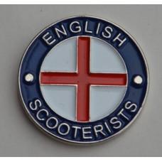 English Scooterists Pin Badge