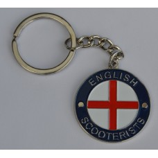 English Scooterists Keyring