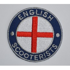 English Scooterists Sew-On or Iron-On Patch