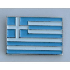 Greek Flag Greece Quality Enamel Pin Badge