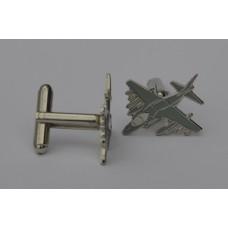 Harrier Jump Jet Cufflinks