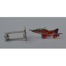 Red Arrows Hawk Cufflinks