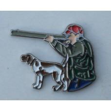 Hunter and Gundog Pin Badge