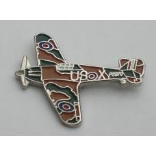 Hurricane Pin Badge
