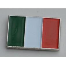 Italian Flag Pin Badge
