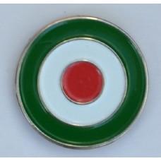 Italian Roundel Mod Target Enamel Pin Badge